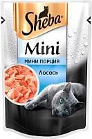 Корм для кошек Sheba Mini c лососем (50г) -