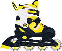 Роликовые коньки Ridex Joker (р-р 31-34, желтый) -