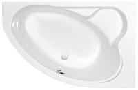 Ванна акриловая Cersanit Kaliope 153x100 R / WA-KALIOPE-153-R-W (с ножками) -