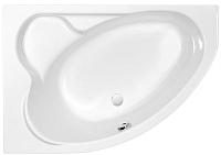 Ванна акриловая Cersanit Kaliope 153x100 L / WA-KALIOPE-153-L-W (с ножками) -
