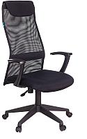 Кресло офисное Бюрократ KB-8N/TW-01 TW-11 (черный/сетка) -