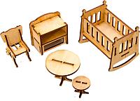 Комплект аксессуаров для кукольного домика Теремок Детская / КМ-3 -