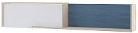 Полка Комфорт-S Винсент-5 М4 (дуб ирландский/бел матовый/дуб глубинно-синий) -