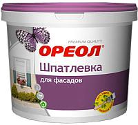 Шпатлевка Ореол Фасадная влагостойкая для наружных работ (16кг) -