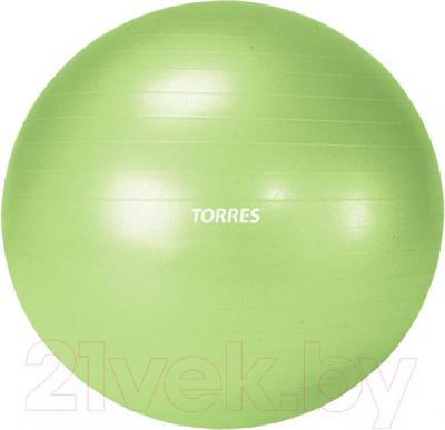 Фитбол гладкий Torres AL100155 (зеленый) - общий вид