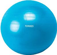 Фитбол гладкий Torres AL100165 (ПВХ, синий) -