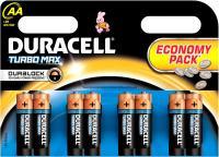 Комплект батареек Duracell TurboMax LR6 (8шт) -