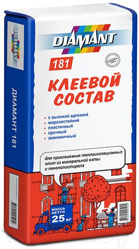 Купить Клей для теплоизоляционных плит Diamant, ПМ КС 1 181 (25кг), Беларусь