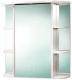 Шкаф с зеркалом для ванной Акваль Милана 75 / АМ.04.75.00.L -