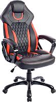 Кресло геймерское Mio Tesoro Амато X-2732 (черный/красный) -
