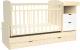 Детская кровать-трансформер Альма-Няня Соната 552035-1 (береза/белый) -