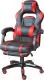 Кресло геймерское Mio Tesoro Марио X-2749-1 (черный/красный) -