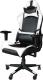 Кресло геймерское Mio Tesoro Альберто X-2546 (черный/белый) -