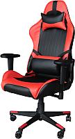 Кресло геймерское Mio Tesoro Альберто X-2546 (черный/красный) -