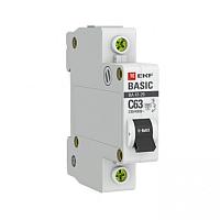Выключатель автоматический EKF ВА 47-29 1P 63А (C) 4.5кА / mcb4729-1-63C -