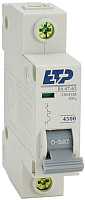 Выключатель автоматический ETP ВА 47-63 1P 10А (D) -
