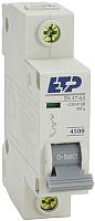 Выключатель автоматический ETP ВА 47-63 1P 63А (С) -