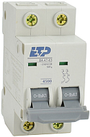 Выключатель автоматический ETP ВА 47-63 2P 25А (С) -