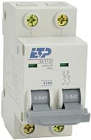 Выключатель автоматический ETP ВА 47-63 2P 6А (С) -