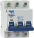 Выключатель автоматический ETP ВА 47-63 3P 25А (С) -