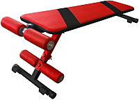 Скамья для пресса Формула здоровья Альфа (красный/черный) -