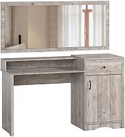 Туалетный столик с зеркалом Woodcraft Лофт 301 (боб пайн) -