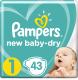 Подгузники Pampers New Baby-Dry Newborn (43шт) -