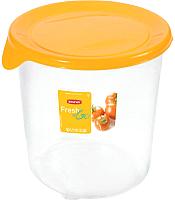 Контейнер Curver Fresh&go 182249 (1л, желтый/прозрачный) -