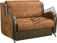 Кресло-кровать Кристалл Выкатной Гармония-1 0.6 (велюр коричневый) -