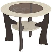 Журнальный столик Мебельград №13 (венге мали/ясень жемчужный) -