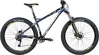 Велосипед Format 1314 Plus 27.5 / RBKM0M679007 (S, темно-синий матовый/черный матовый) -