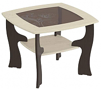 Журнальный столик Мебельград №14 (венге мали/ясень жемчужный) -