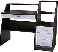Письменный стол Мебельград СК-09 (венге/дуб молочный) -