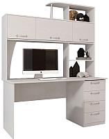 Письменный стол Мебельград СК-11 (бодега белая) -