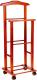 Стойка для одежды Мебельград 46x30x109 (полиуретан орех) -
