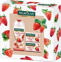 Набор косметики для тела Palmolive Гурмэ СПА Клубника гель для душа 250мл+мыло 2шт -