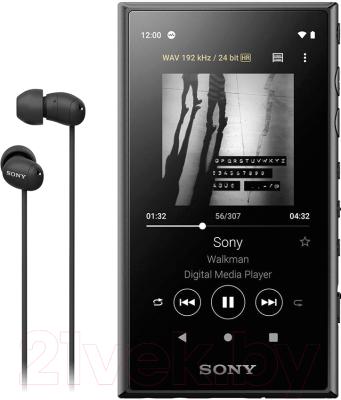 MP3-плеер Sony NW-A105HN (черный)