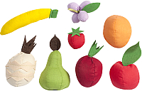 Набор игрушечных продуктов Paremo Фрукты с карточками / PK320-19 (5 предметов) -