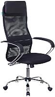 Кресло офисное Бюрократ CH-608SL (сетка/черный, TW-01/TW-11) -