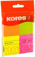 Блок для записей Kores 48450.02 (ассорти неон) -