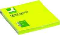 Блок для записей Q-Connect Brilliant KF10515 (зеленый неон) -