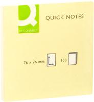 Блок для записей Q-Connect KF10502 (желтый) -
