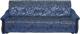 Диван Промтрейдинг Уют 140 с ППУ (гобелен синий) -
