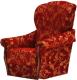 Кресло мягкое Промтрейдинг Уют (красный) -