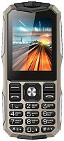 Мобильный телефон Vertex K213 (песочный/металл) -