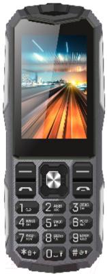 Мобильный телефон Vertex K213 (черный/металл)