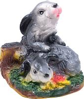 Статуэтка Белбогемия Зайчики на пне 90108 -