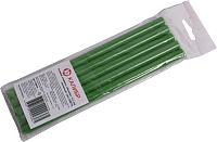 Клеевые стержни Калибр 120814 (5шт, зеленый) -