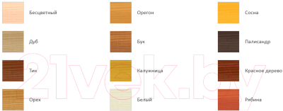 Антисептик для древесины Profiwood Тонирующий (750мл, белый)