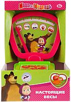 Весы игрушечные Играем вместе Маша и медведь / B88306-R -